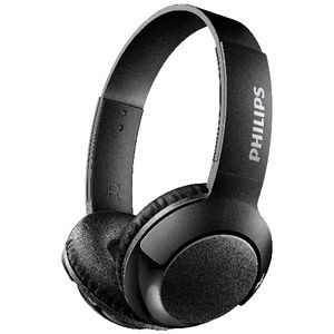 Philips Bass Wireless On Ear Headphones Black
