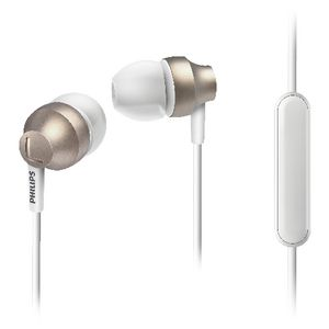 Philips Chromz Gel Earphones Gold