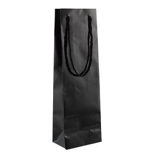Glossy Black Bottle Bag 30 Pack