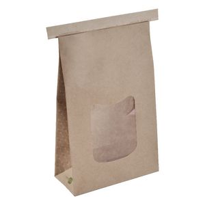I am eco Tin Tie Paper Bag Large 400 Pack Brown
