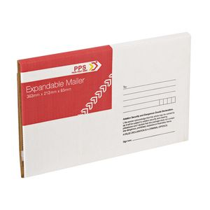 Expandable Mailer 363 x 212 X 65 mm