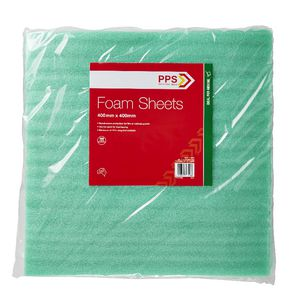 PPS 1 mm Thick Foam Moving Sheets 400 x 400 mm