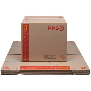 PPS Store Carton with Handles 406 x 298 x 431mm 10 Pack