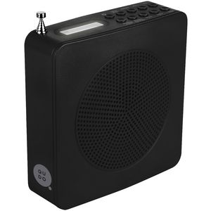 Qudo DAB Square Radio Black