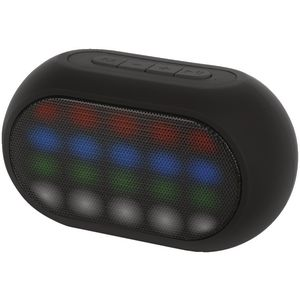 Qudo LED Bluetooth Speaker Black