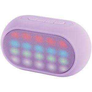 Qudo LED Bluetooth Speaker Purple