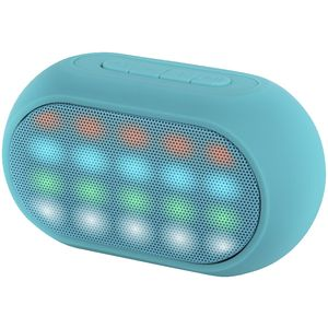 Qudo LED Bluetooth Speaker Teal