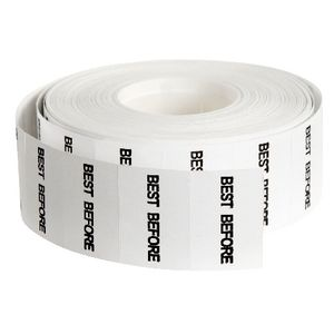 QuikStik Mark I Best Before Permanent Labels 7500 Pack