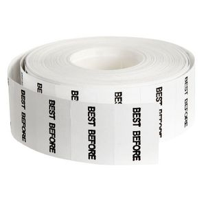QuikStik Mark II Best Before Permanent Labels 5000 Pack