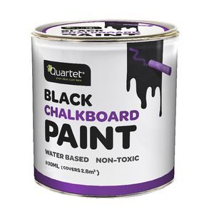 Quartet Chalkboard Paint Black 930mL
