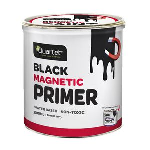 Quartet Black Magnetic Primer Paint 600mL