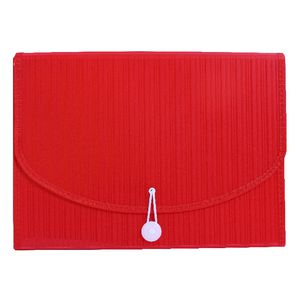 Expanding File A4 13 Pocket Red