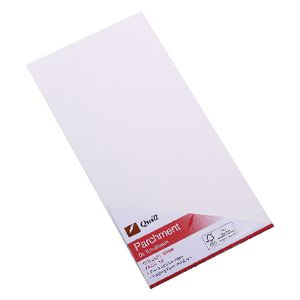 Quill Parchment DL Envelope 10 Pack White