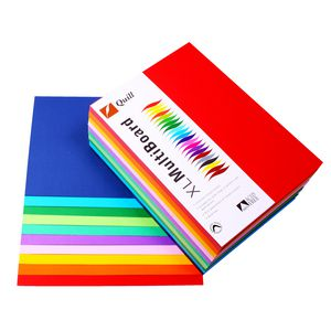 Quill XL MultiPaper 80gsm A5 Assorted Brights 250 Pack