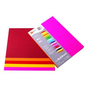 Quill XL MultiPaper 80gsm A5 Assorted Hot 250 Pack