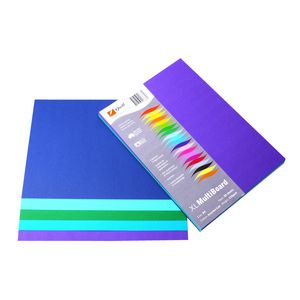 Quill XL MultiPaper 80gsm A5 Assorted Cold 250 Pack