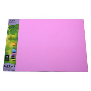 Quill Board 210gsm A3 Pastel Assorted 15 Pack