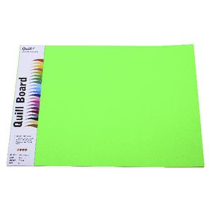 Quill Board 210gsm A3 Fluoro Assorted 15 Pack