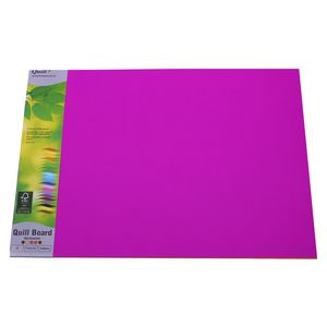 Quill Board 210gsm A3 Hot Assorted 15 Pack