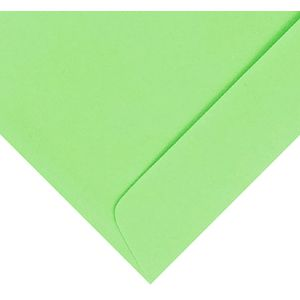 Quill C6 Envelopes Lime 25 Pack