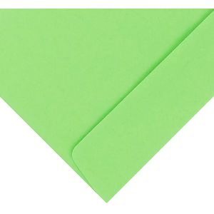 Quill DL Envelopes Lime 25 Pack