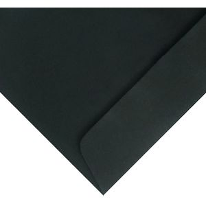 Quill C6 Envelopes Black 25 Pack