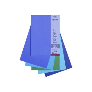 Quill A4 80gsm Paper Cold Assorted 25 Pack