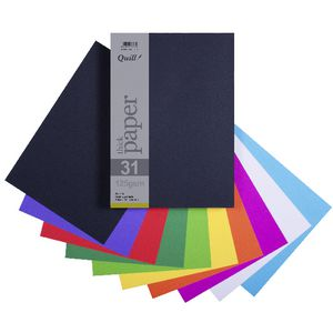 Quill A4 Paper 125gsm Assorted 250 Pack