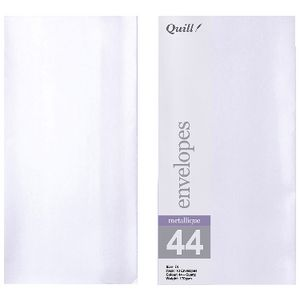 Quill DL Envelopes Metallique Quartz 10 Pack