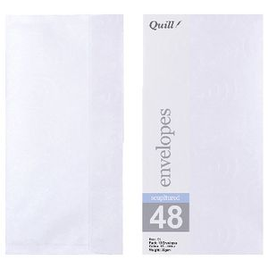 Quill DL Wallet Envelope Iridina 10 Pack