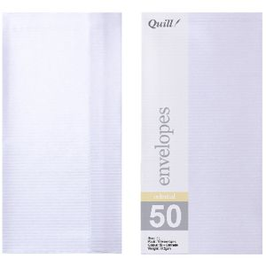 Quill DL Celestial Canette Envelopes 10 Pack