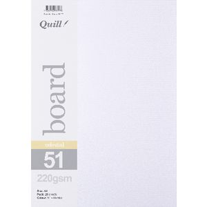 Quill Celestial Rombo A4 220gsm Board 25 Pack