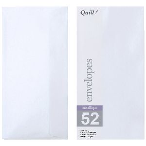 Quill DL Envelopes Metallique Peridot 10 Pack