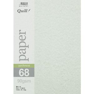 Quill Parchment 90gsm A4 Paper Sage 25 Pack