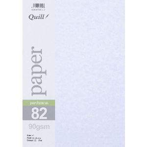 Quill Parchment 90gsm A4 Paper Blue 25 Pack