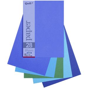 Quill A5 Paper Cold Assorted 250 Pack at Officeworks in Campbellfield, VIC | Tuggl