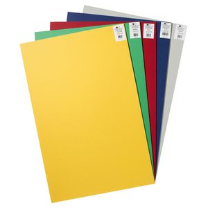 Quill Foam Board 5mm 550 x 770 mm Assorted Colours 5 Pack