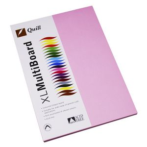 Quill XL MultiBoard 210gsm A4 Musk 50 Pack