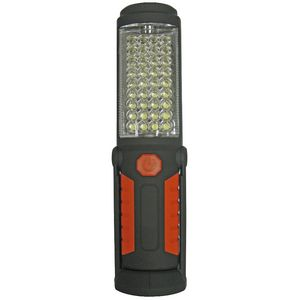 LED Dual Mode Work Light Black and Orange
