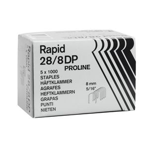 Rapid 28/8 DP Staples 5000 Pack