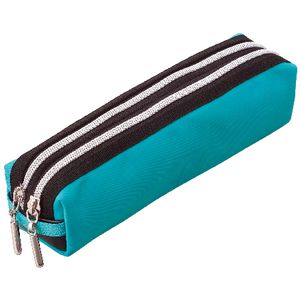 Raymay Fujii Twin Zip Pencil Case Blue at Officeworks in Campbellfield, VIC | Tuggl