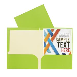 Report Cover A4 Matte Laminate Green