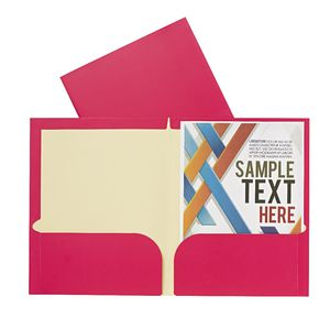 Report Cover A4 Matte Laminate Pink