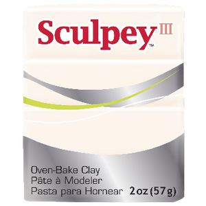 Sculpey III Modelling Clay Translucent 57g