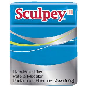 Sculpey III Modelling Clay Turquoise 57g