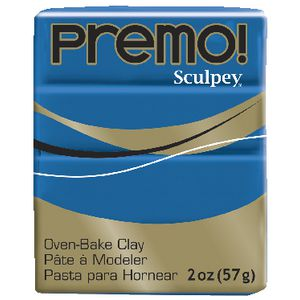 Sculpey Premo! Modelling Clay Cobalt Blue 57g