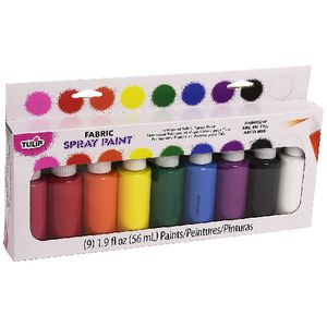 Tulip Fabric Spray Party 9 Pack