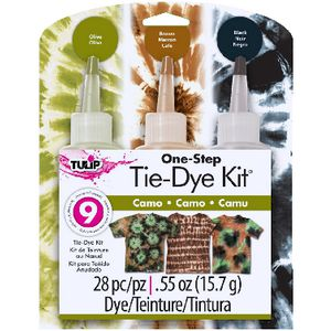 Tulip One Step 3 Colour Tie Dye Kit Camo