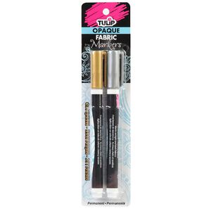 Tulip Opaque Fabric Marker 2 Pack