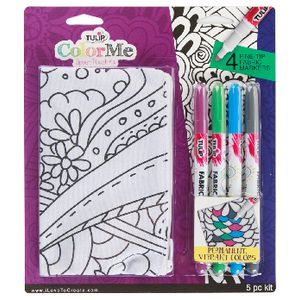 Tulip Color Me Pouch and Marker Kit